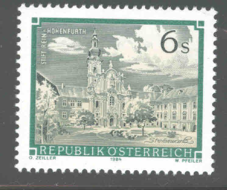Austria Osterreich Scott 1288A MNH** from 1984-85 Monastery Abbey set