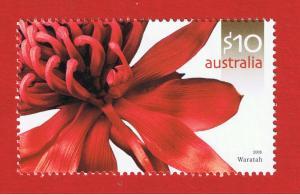 Australia  #2492  MNH OG  Flowers-Waratah  Free S/H