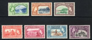TRINIDAD  AND TOBAGO  --  1953-59    SG btw  267-275     LMM