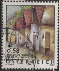 Austria Sc. #1869 (used) €0.58 street, Hadres (2002)