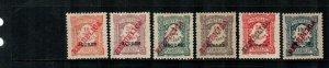 Azores #J8//J14  Mint  Scott $15.05