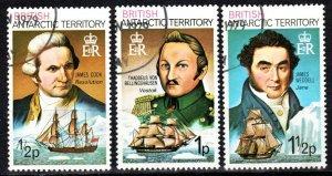 British Antarctic Territory #45-7  F-VF Used CV $8.00  (X724)