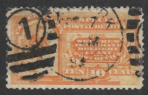 Doyle's_Stamps: Used Scott #E3 1893 Special Delivery w/NYC CDS