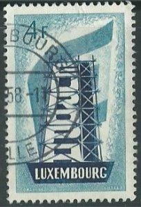 1956 Luxembourg Scott Catalog Number 320 Used