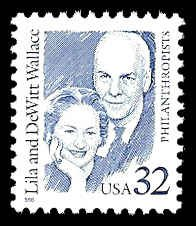 PCBstamps  US #2936 32c Lila and DeWitt Wallace, MNH, (6)
