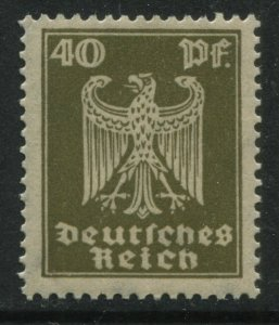 Germany 1924 40 pf olive green unmounted mint NH