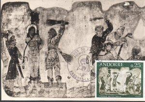 Andorra #185-187  Maximum Cards