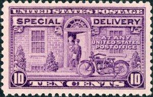 #E15 – 1927 Rotary Press 10c. MLH OG XF