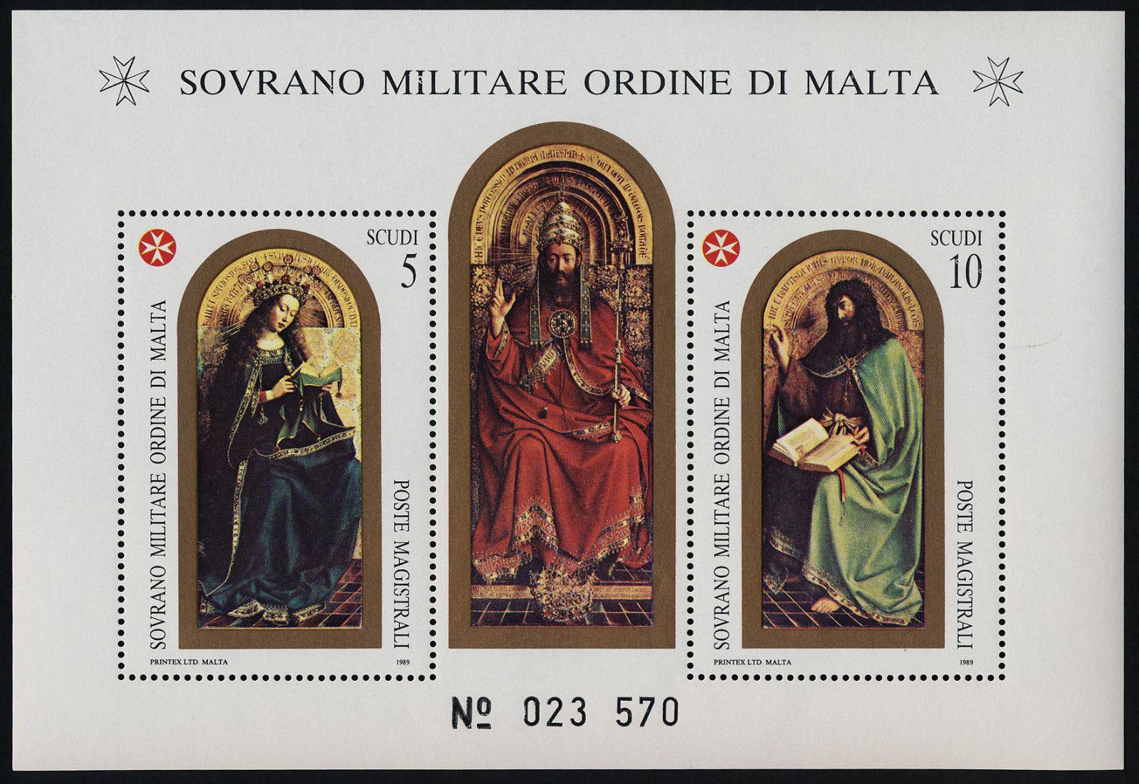 Sovereign Order of Malta 312a MNH St John Battista X