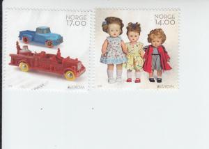 2015 Norway Europa - Toys (2) (Scott 1769-70) MNH