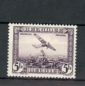 Belgium, C5, Plane Airmail Single,**MNH**