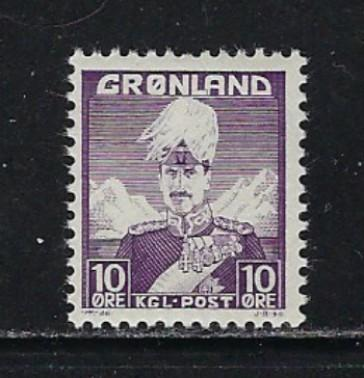 Greenland 4 NH 1938 issue