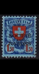 SCHWEIZ SWITZERLAND [SDN] MiNr 0024 z ( O/used )