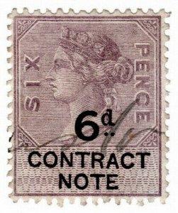 (I.B) QV Revenue : Contract Note 6d