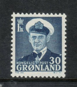 Greenland #33 Very Fine Never Hinged