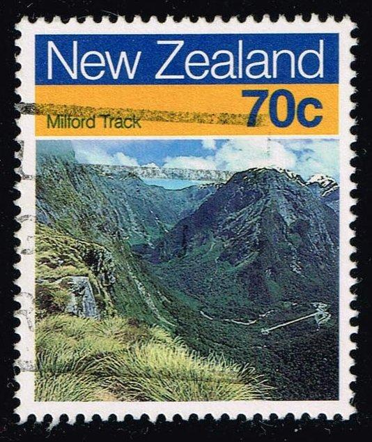 New Zealand #903 Milford Track; Used (0.80)