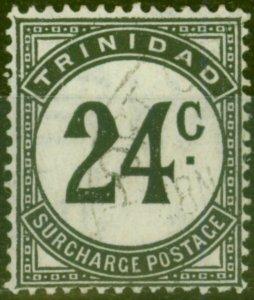 Trinidad 1947 24c Black SGD33 Fine Used