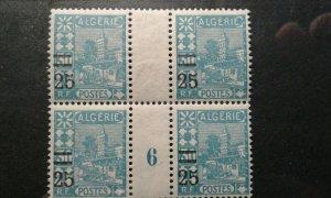 Algeria #69 MNH millesimes block e201.6414