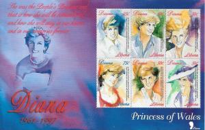 LIBERIA SHEET MNH LADY DI DIANA PRINCESS WALES ROYALTY