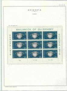 BALIWICK OF GUERNSEY , TWO MINT NEVER HINGED STAMPS SHEETS.   REF 998