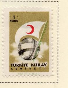 Turkey 1957 Early Issue Fine Mint Hinged 1k. 085651