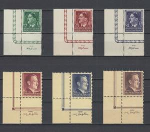 German Occup.Generalgouvernement 2 Complete A.Hitler sets borders of sheets MNH