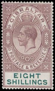 Gibraltar Scott 90 Gibbons 101 Mint Stamp