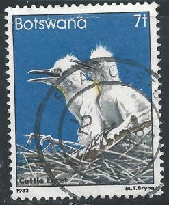 Botswana #309 7t Bird - Cattle Egret
