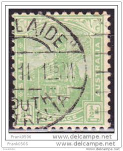 South Australia 1899, Adelaide Post Office, 1/2p, Scott# 114, used