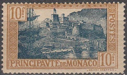 Monaco #92 Unused CV $25.00 (A16965)