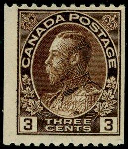CANADA SG218a, 3c brown, NH MINT.
