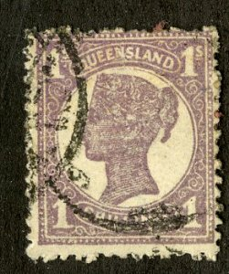 QUEENSLAND 121 USED SCV $4.00 BIN $1.75