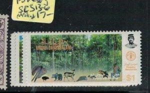 Brunei Forest SG 313-6 MNH (5exv)