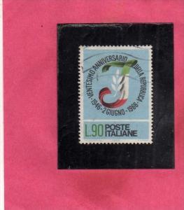 ITALIA REPUBBLICA ITALY REPUBLIC 1966 VENTENNALE DELLA REPUBBLICA TWENTY YEAR...