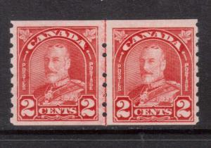 Canada #181i NH Mint Line Pair