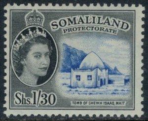 Somaliland Protectorate #136*  CV $24.00