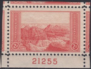 US 741 PNS 2c NATIONAL PARKS - GRAND CANYON 21255 B MNH CV:* $0.35 LOT 1775