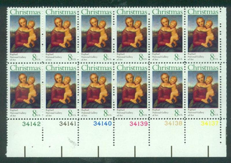 U.S. Scott 1507 VF MNH Plate Block of 12