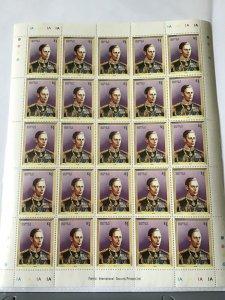 Barbuda George v1 1936-1952 full mint never hinged  stamps sheet ref R23562
