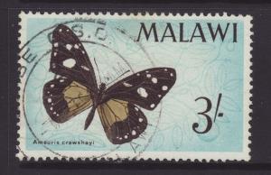 1966 Malawi 3/- Fine Used SG250