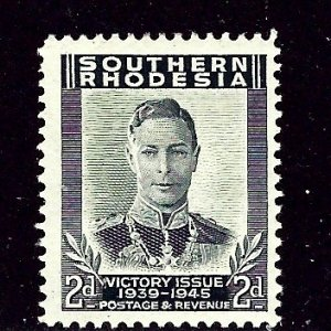 Southern Rhodesia 68 MH 1947 issue    (ap2725)
