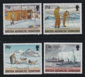 Br Antarctic Territory 1994 Operation Taberin set Sc# 214-17 NH
