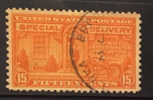 US #E16 Used F/VF - Special Delivery 15 cent
