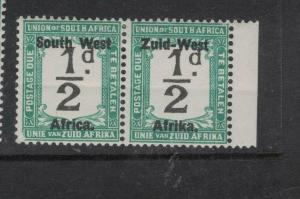 South West Africa SG D6 MOG (5dwd)