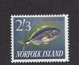 Norfolk Island, 60, Fish - Ophie Single,**MNH**