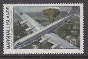 Marshall Islands 520 Atomic Bomb Dropped on Hiroshima MNH VF