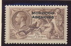 Great Britain, Offices In Morocco Stamp Scott #242, Mint Lightly Hinged - Fre...