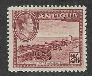 Antigua #92 > 2sh6p of 1938 > Mint Never Hinged / SCV $26