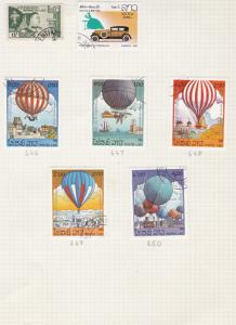 laos stamps page ref 18352