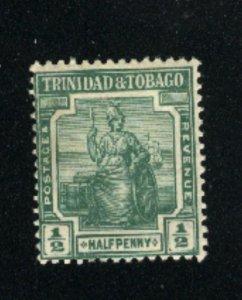 Trinidad & Tobago # 1   Mint NH 1913 PD